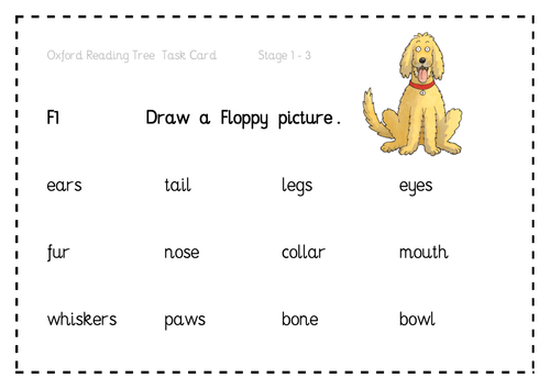Activity Cards for Oxford Reading Tree