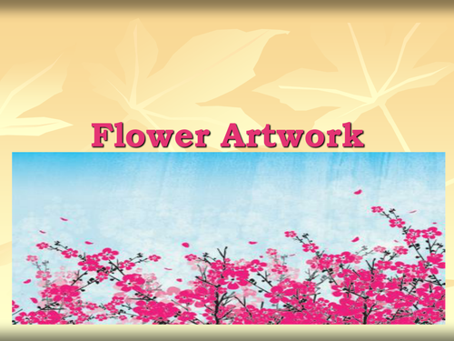 Flower artwork