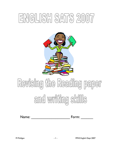 SATS NCTs Reading Revision booklet