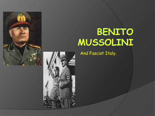 An introduction to fascism for KS5 students