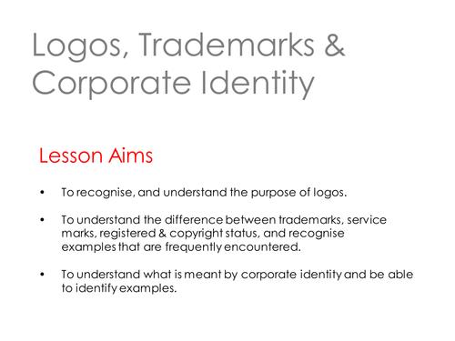 Corporate Identity By Zaikamaria Teaching Resources Tes