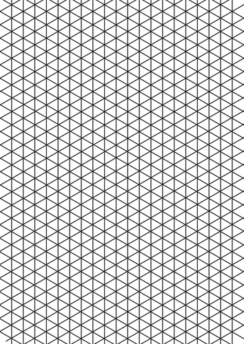 Exceptional image within isometric graph paper printable