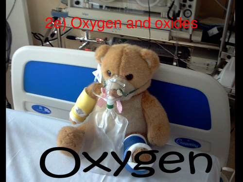 Oxygen and Oxides PowerPoint