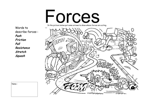 Forces By Njonesford Teaching Resources Tes