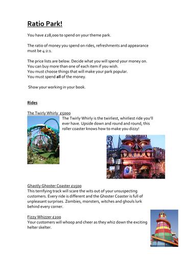 Ratio Theme Park