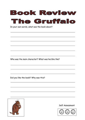The Gruffalo Book Review By Kayld Teaching Resources Tes