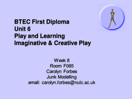 Developing Creative and Imaginative Play