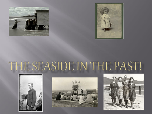 ks1 Seaside holidays in the past powerpoint