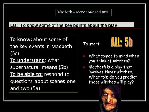 essay on macbeth act 1 scene 2