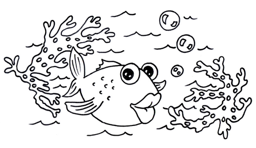coloring pages seaside - photo#11
