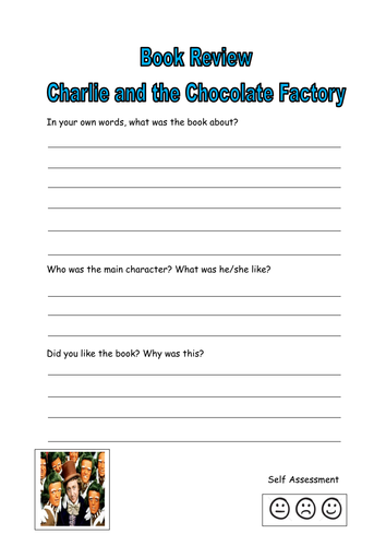 Charlie chocolate factory book review by kayld teaching