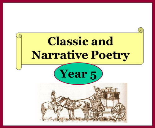 Classic and Narrative Poems: The Highwayman