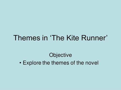an essay on the kite runner