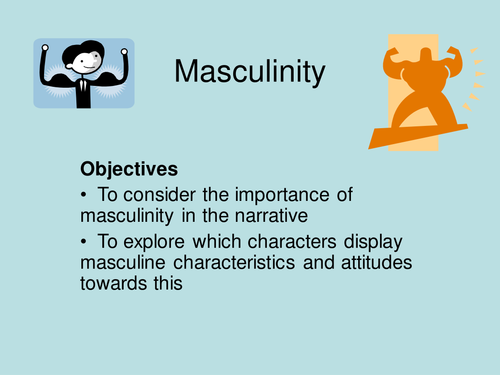 Masculinity In The Kite Runner By Ella667 Teaching Resources Tes