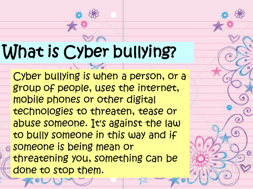 How to cope with Cyberbullying by jacqui1974 - Teaching Resources ...