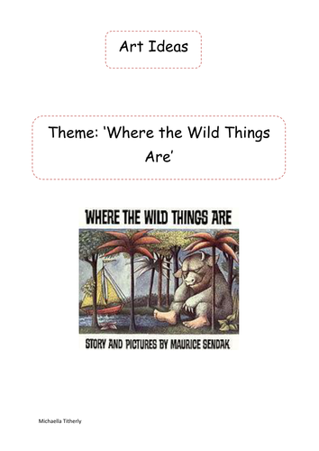 'Where the Wild Things Are' Art and Craft Ideas