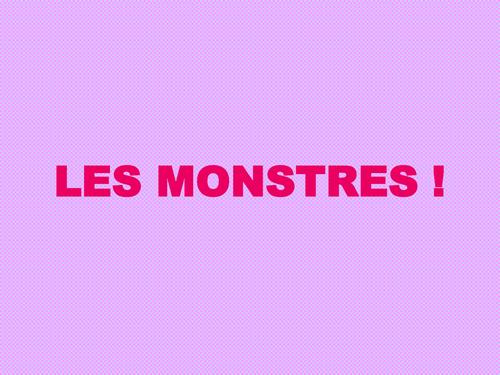 Les monstres! (corps humain)