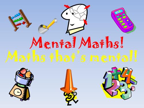 100 Mental Maths Starters By Theautisticteacher Teaching Resources