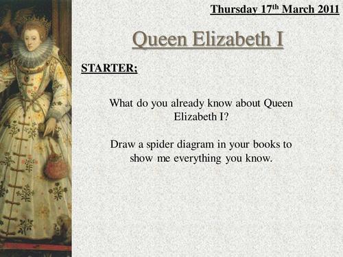 Elizabeth I's Problems