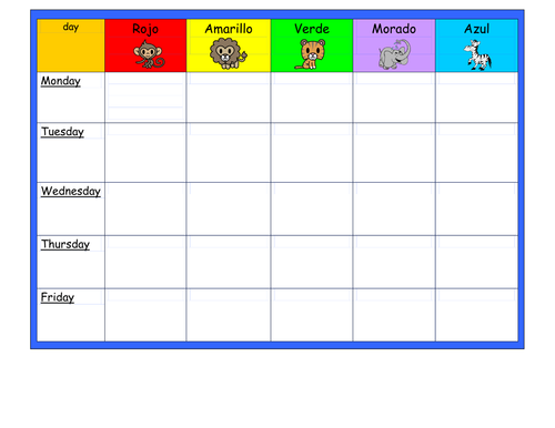 table points tally chart by sairer teaching resources tes