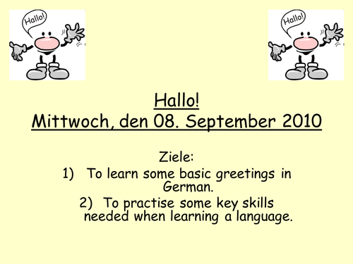 German greetings presentation by mflteacher1 teaching resources tes m4hsunfo Image collections