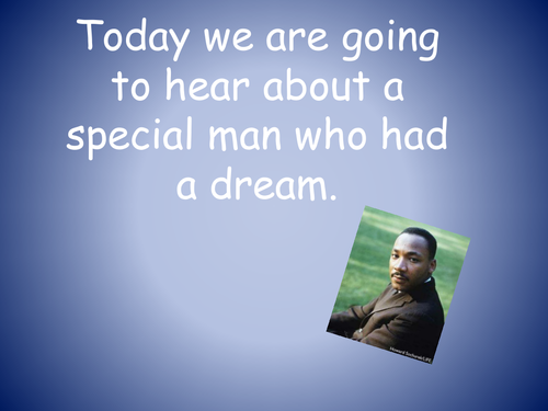 Martin Luther King story for younger children