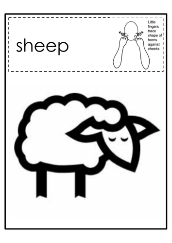 Makaton Farm Colouring By Ibuzzybea Teaching Resources Tes