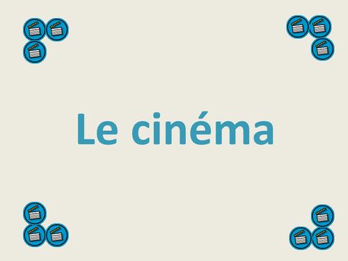 Le cinéma STARTER + TRANSLATION