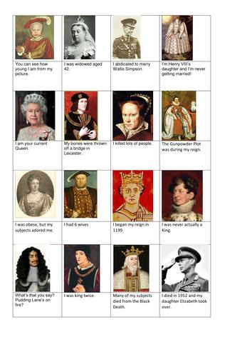 list of british monarchs pdf