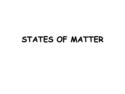 States Of Matter Worksheet Age 10 15 Solids Liquids And Gases