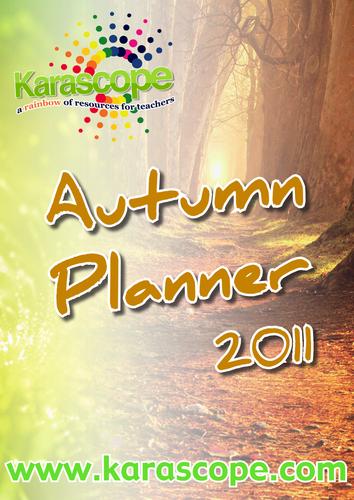 Autumn Teaching Planner
