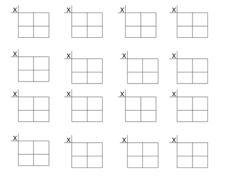 Long Multiplication Box Method Worksheet by TheChal1 Teaching – Multiplication Lattice Method Worksheets