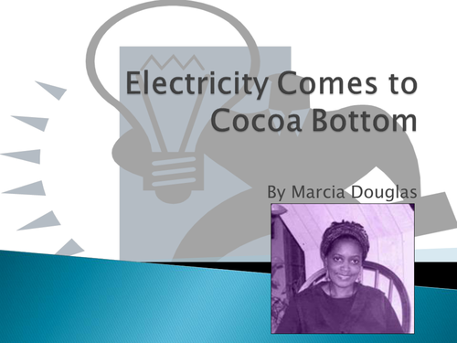electricity comes to cocoa bottom not