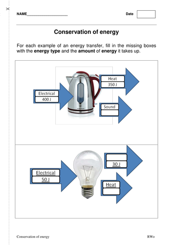 P1.2 Energy efficiency and conservation of energy