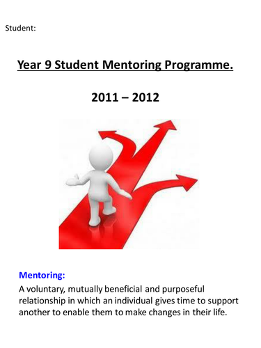 Student Mentoring - target setting and reflection