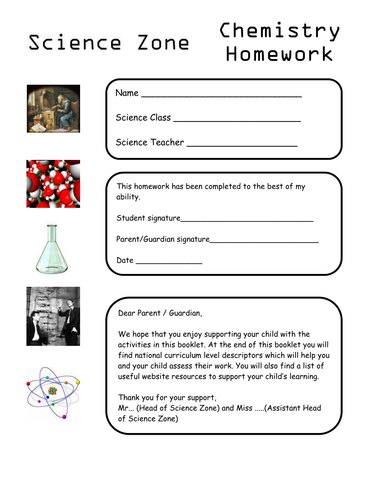 year 7 chemistry hw and activities by campermon teaching resources. Black Bedroom Furniture Sets. Home Design Ideas
