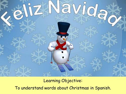 Feliz Navidad by Sarah2209 - Teaching Resources - Tes