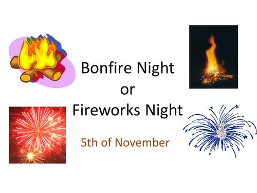 Bonfire Night powerpoint