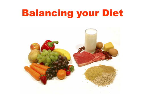 Balanced Diet Pie Chart Healthy Eating By Oldredeyes Teaching