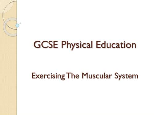 Edexcel GCSE PE - Topic 1.2.4