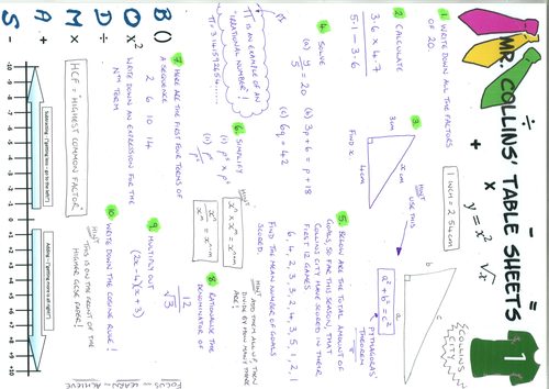 GCSE practice questions and revision notes