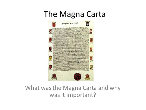 Magna Carta Worksheet by charliers6 Teaching Resources TES – Magna Carta Worksheet