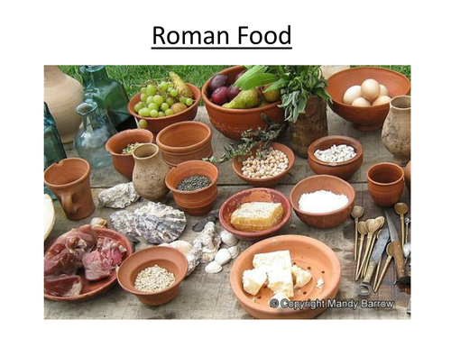 Roman food by alainechristian teaching resources tes for Ancient roman cuisine