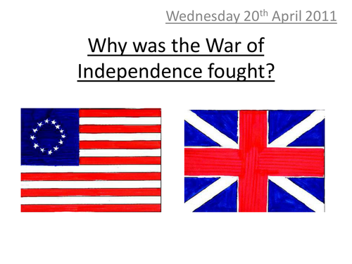 American History; War of Independence
