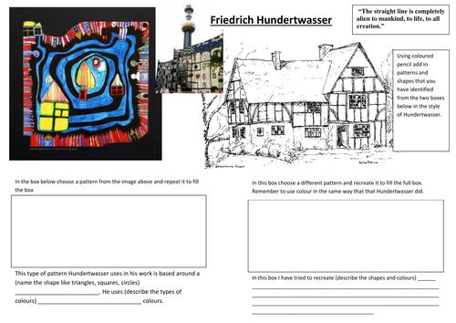 Hunderwasser Cover Lesson by schmidty707 - Teaching ...