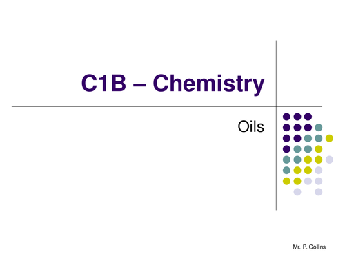 Chemistry C1B Revision - Part 2