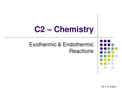 Chemistry C2 Revision (Part 5)
