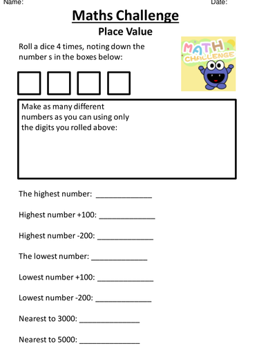 Place Value Worksheets Ks1 - Laptuoso