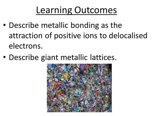 Metallic Bonding and Structure