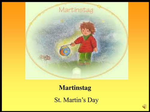Martinstag St Martin S Day Teaching Resources